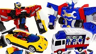 Hello Carbot engineer Iront and sports car Converstor transform robot appeared! - DuDuPopTOY