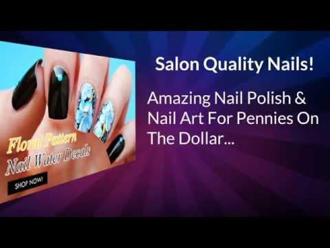 Amazing Nail Polish & Nail Art For Pennies On The Dollar...