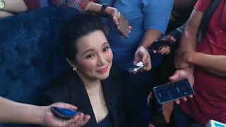 Kris Aquino relates to Joshua and Julia being loving to their Dad and Mom