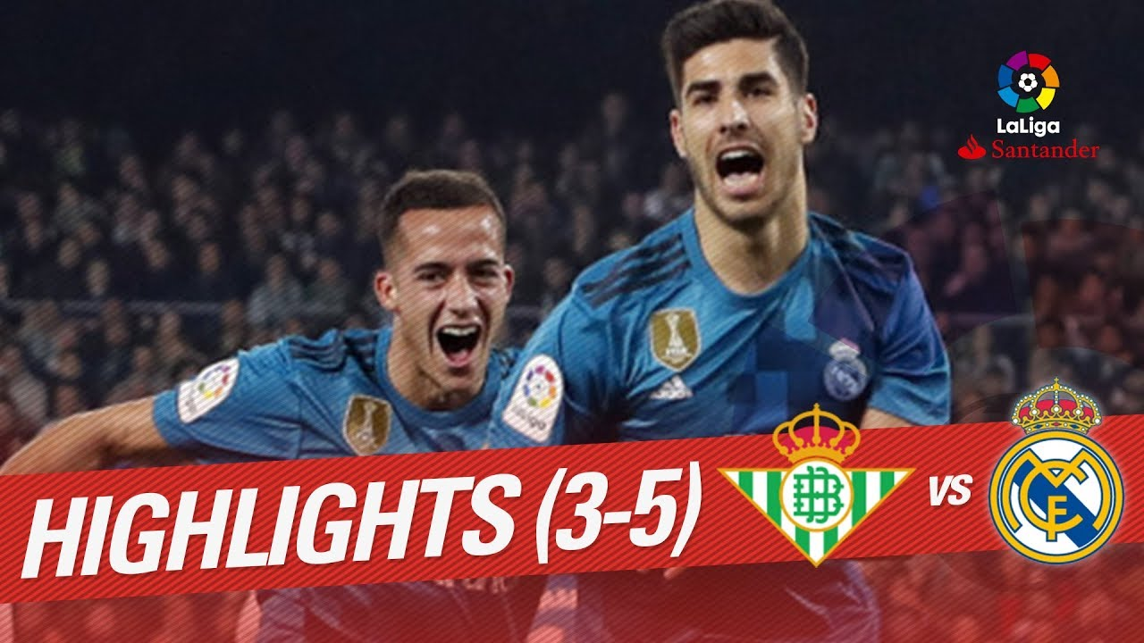 Image Result For Resumen De Real Madrid Vs Real Betis Youtube