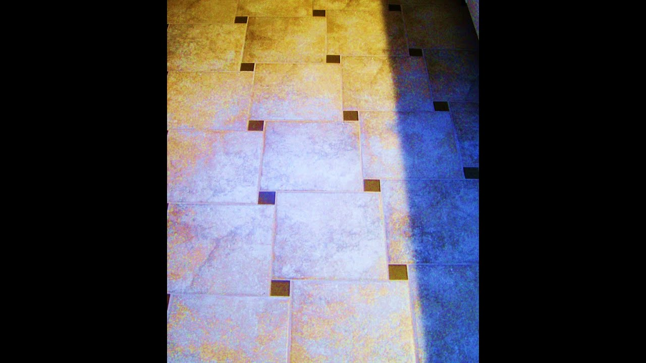 How To Tile Entryway With Pinwheel Pattern Dave Blake Master Tile