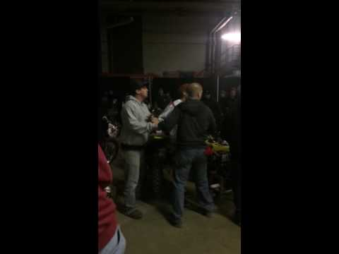 Fight in the pits HUNTINGTON WV ARENACROSS 2014