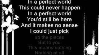 Simple plan - perfect world - lyrics