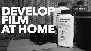 develop b film and make kodak d76 at home