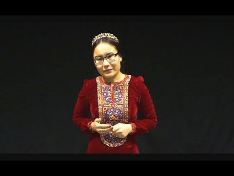 Национальная одежда Туркменистана
