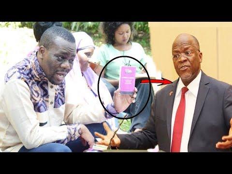 Ghafla Tumepokea Taarifa hii Zitto Kabwe hakomi ,sasa kumchambua Magufuli bila Woga,Lemma afunguka M