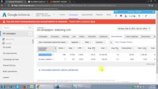 Adwords Ads Extensions Tutorial 2017