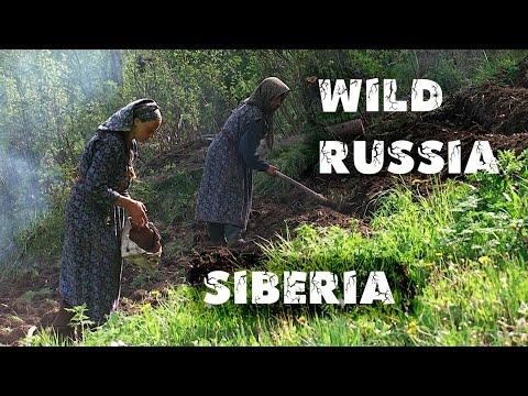 Алтай. Хранители озера. [Агафья Лыкова и Василий Песков]. Teletskoye lake. Siberia. Телецкое озеро.