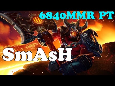 Dota 2 - SmAsH 6840MMR PT plays AXE vol 2# - Ranked ...