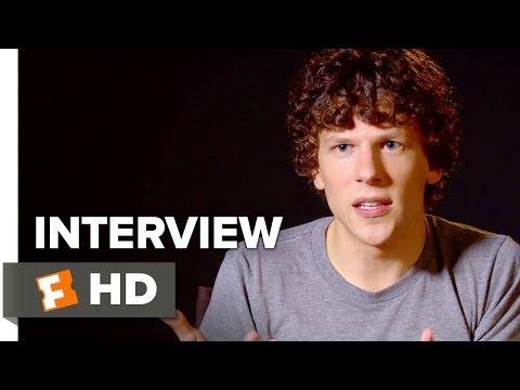 American Ultra Interview - Jesse Eisenberg (2015) - Comedy Movie HD