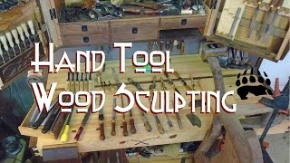 Hand Tool Wood Carving