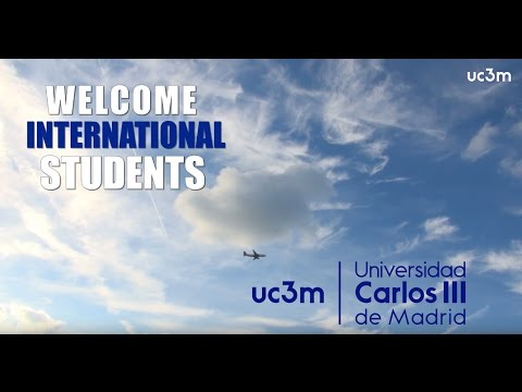 Welcome international students to Universidad Carlos III de Madrid