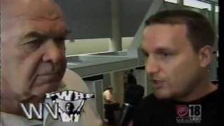 """George """"The Animal"""" Steele Shoot Interview with Scotty Bender"""