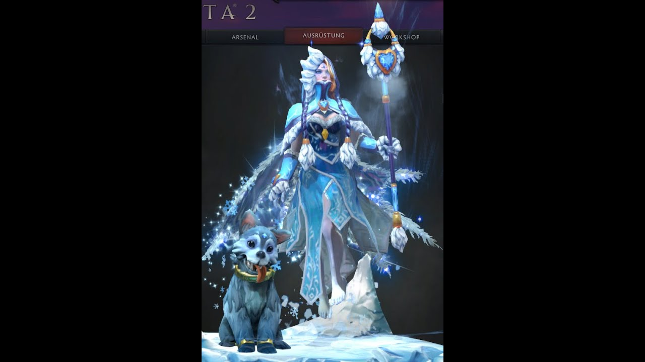 Dota 2 Crystal Maiden Arcana / Frost Avalanche Bundle ...