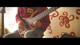Chris Avila - spain bass impro (cover)