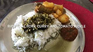 how to cook pork curry