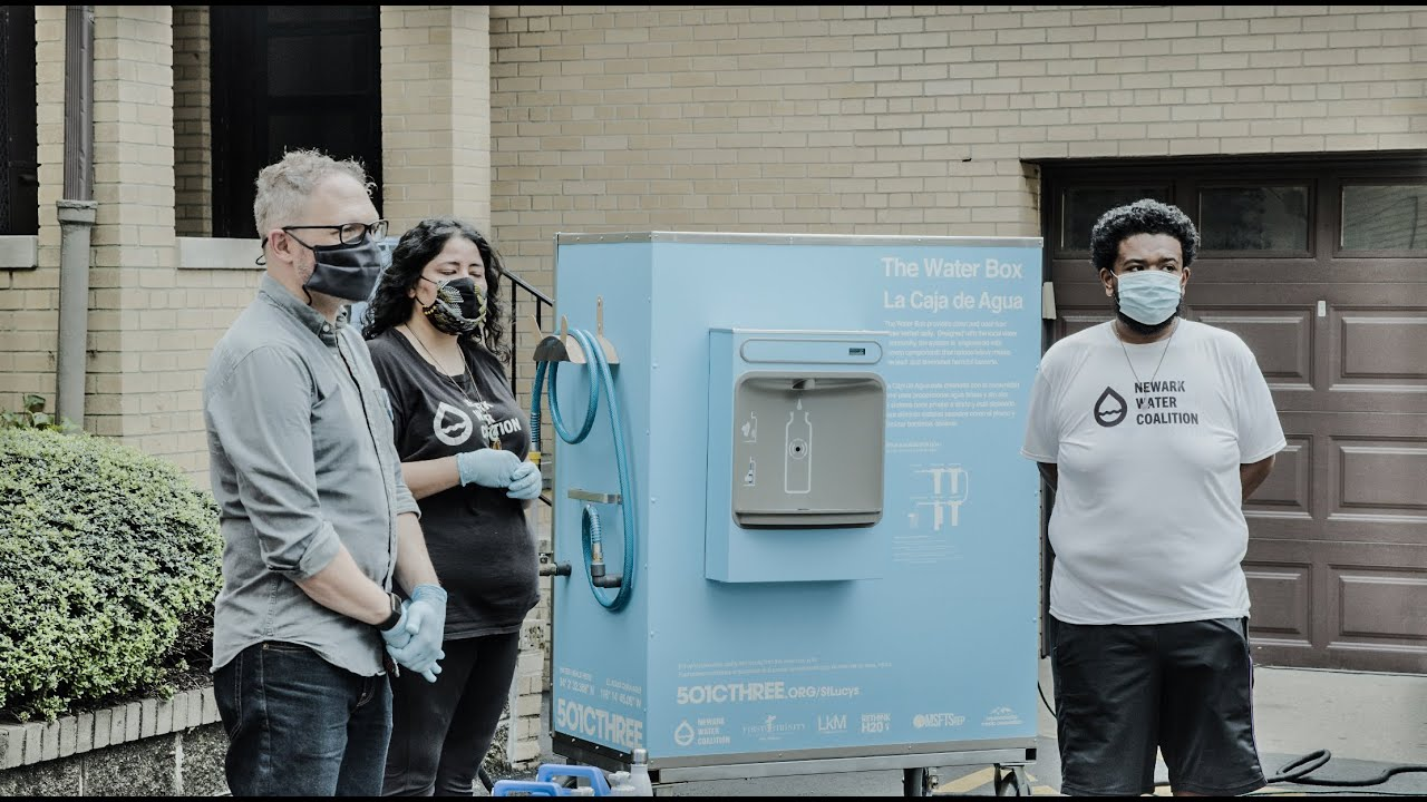 Water Box for Newark Water Coalition