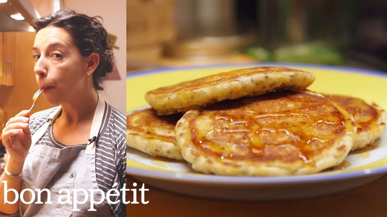 Carla Makes Deceptively Healthy Pancakes | Bin It To Win It | Bon Appetit