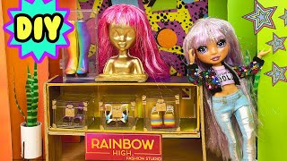 DIY Make A Rainbow High Style Studio Unboxing Series 2 Bella Parker Unboxing