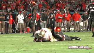 Highlights: Florida State vs. Miami