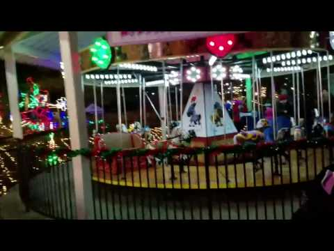Christmas Vacation Day 3! Hershey Park Candylane VIrtual Tour 2016