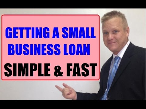 Secret To Getting A Simple & Fast - Small Business Loan For Your Business from YouTube · Duration:  2 minutes 39 seconds  · 628 views · uploaded on 7/5/2016 · uploaded by Andrew Twelftree