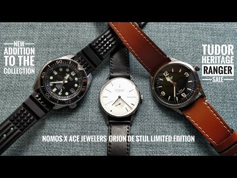 New Seiko for Collection, Tudor Heritage Ranger Sale, & Nomos x Ace Jewelers Limited Edition Review