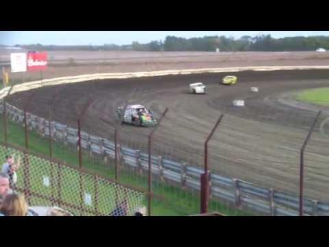 10-11-14 Lee County Speedway Heat Tony Olson