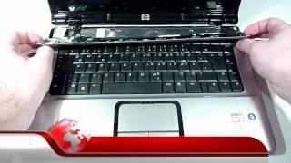 HP PAVILION DV6000 VIDEO ANLEITUNG ZUM LAUTSPRECHER TAUSCH !! VIDEO TUTORIAL SPEAKER REPLACEMENT