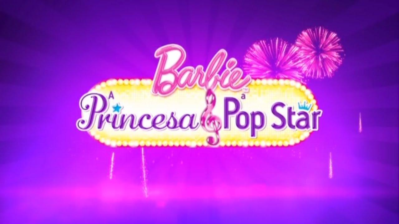 Barbie em A Princesa e a Pop Star  Trailer BR DUBLADO