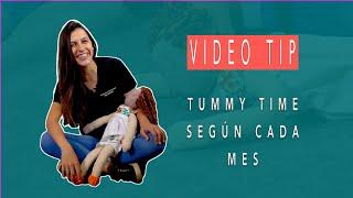 Tummy Time según la Edad de tu Peque