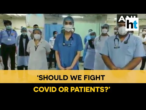 'Fight Covid or patients?': Delhi's LNJP staff allege misconduct at hospital