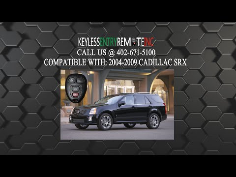 How To Replace A 2004-2009 Cadillac SRX Key Fob Battery FCCID: OUC60270