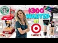 Shop With Me TARGET + I Wasted $300 HAUL