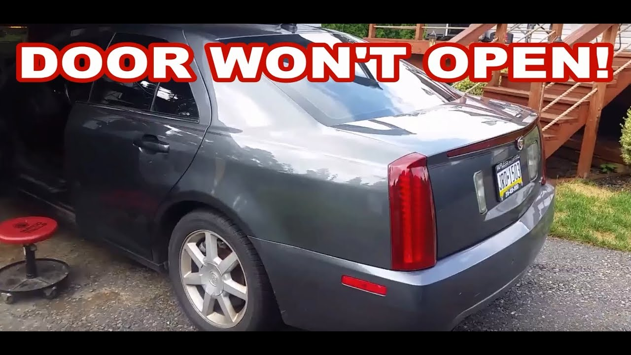 2006 cadillac sts door handle micro switch repair [ 1280 x 720 Pixel ]