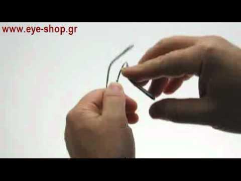 Flexible titanium eyewear the glasses that do not break - YouTube
