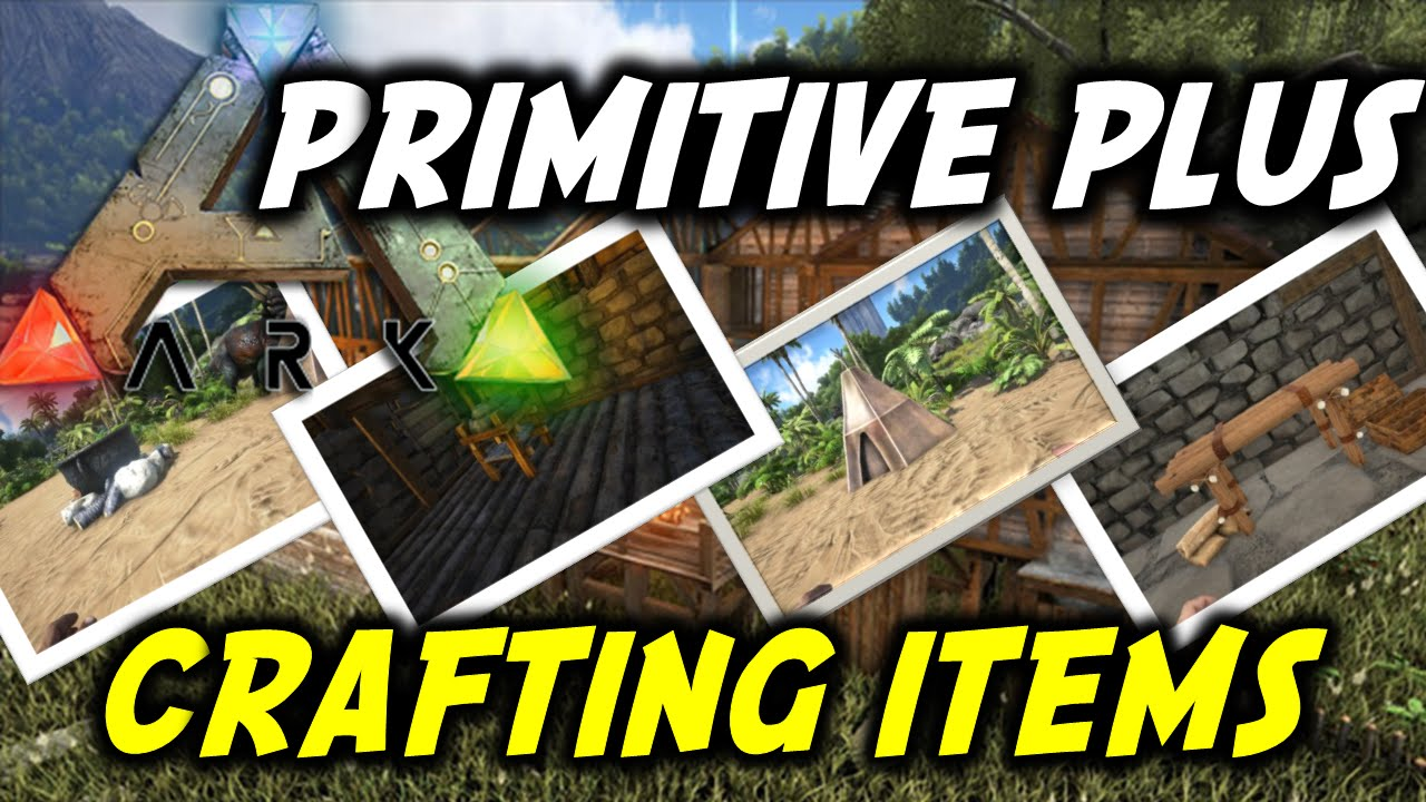 how to make glass in ark primitive plus