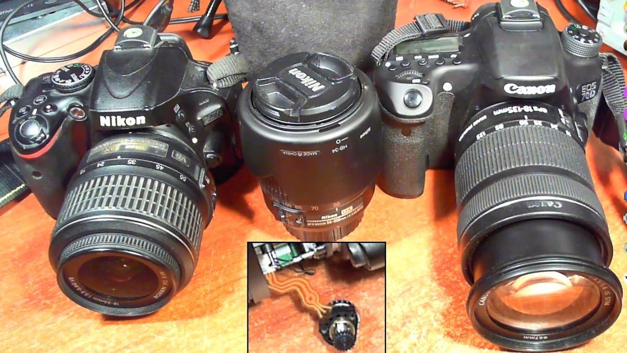 Выпадает в ошибку объектива. Фотокамера Nikon Coolpix P510. Ремонт .