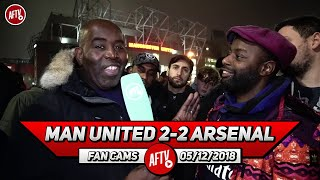 Man United 2-2 Arsenal | We Are Blessed & Grateful To Have Unai Emery