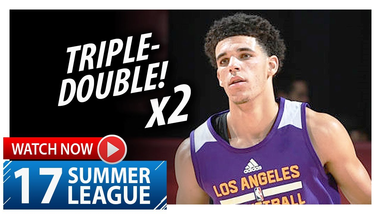 Lonzo Ball youngest to have triple-double but Lakers fall to Bucks