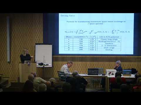 Carl-Oscar Gullström: Working with theory about the Rossi effect