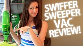 Swiffer Sweeper Vac Review! (Clean My Space)