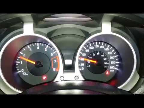 NISSAN Juke Warning and Indicator Lights How To Fix - YouTube