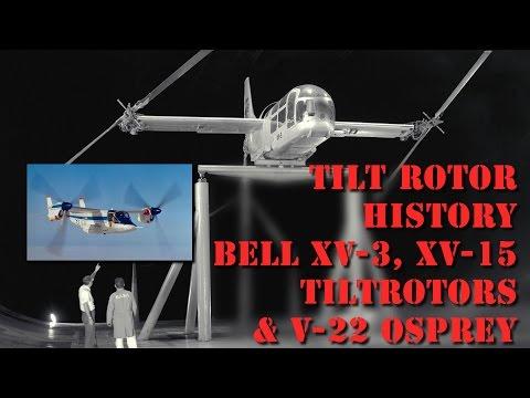 Tiltrotor V 22 Osprey Documentary | NASA Bell XV-15 | Tilt Rotor History Part 1 | AeroSpaceNews.com