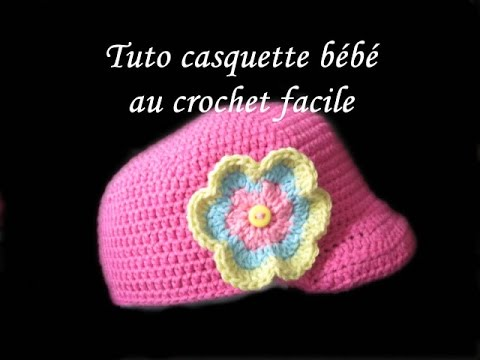 tuto casquette bebe au crochet facile newsie baby crochet youtube. Black Bedroom Furniture Sets. Home Design Ideas
