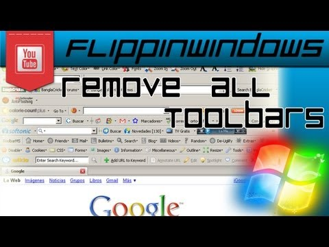 Remove almost any toolbar and BHO