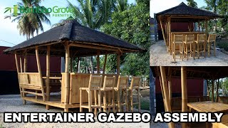 Bamboo Grove Furniture - The Entertainer Deluxe Assembly