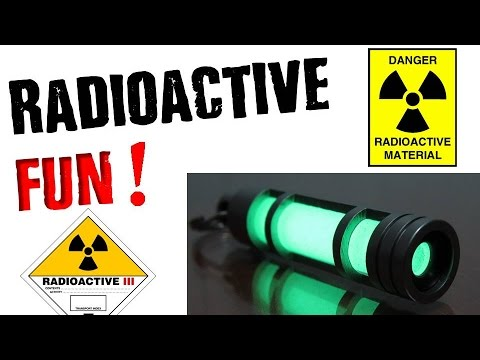 Radioactive Key Chain | IS IT SAFE???