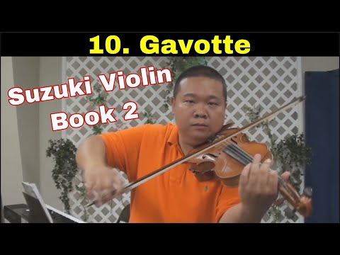 Suzuki Violin School - Book 2 - Gavotte