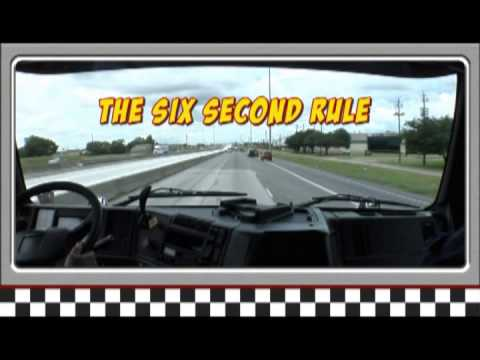 Driver Training Series: Following and Stopping Distances